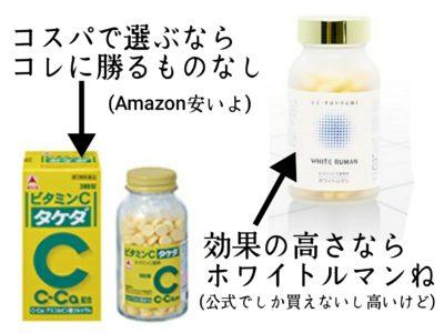 ホワイトルマン タケダ ビタミンC
