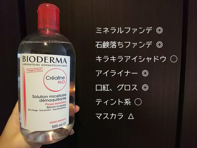 BIODERMA バイオドマ ビオデルマ クレンジング コストコ 敏感肌 使い方 成分